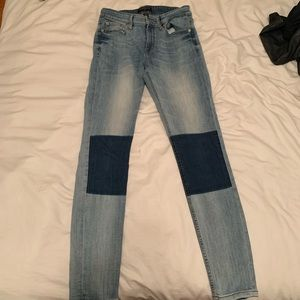 Banana Republic Patched Jeans